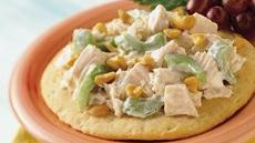 Chicken Salad Biscuit Boats Recipe