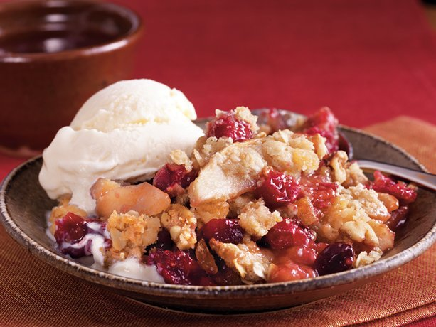 Image of Apple-ginger-cranberry Crisp, Betty Crocker