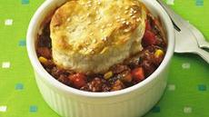 Sloppy Joe Biscuit Pot Pies (club store pack) Recipe