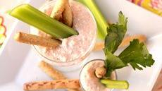 Creamy Crab Dip Shooters Recipe