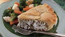 Beef Stroganoff Pot Pie Recipe