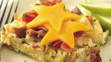 Bacon, Cheese and Tomato Strata Recipe