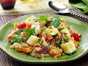 Cumin Spiced Quinoa with Vegetables