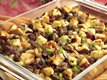 Sausage and Cranberry Baked Stuffing