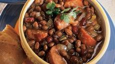 Spicy Sausage-Cranberry-Baked Bean Ragout Recipe