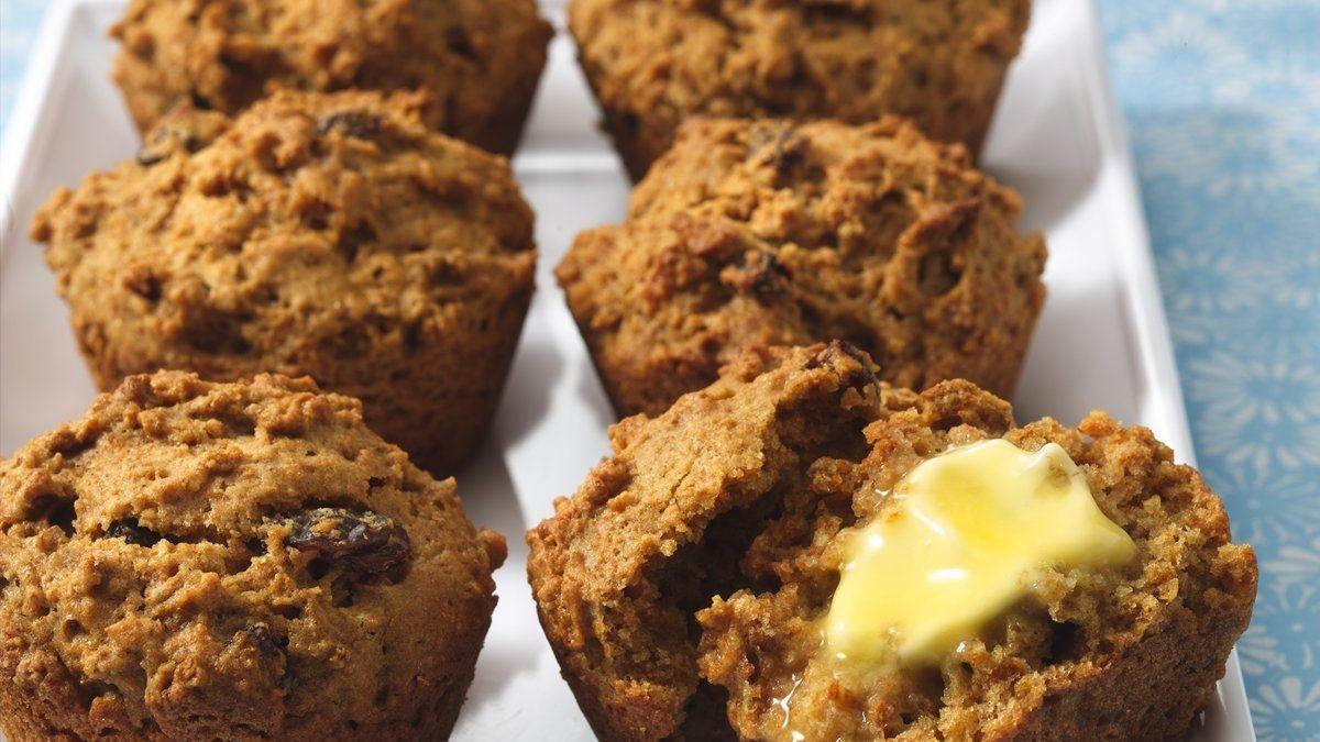 Muffins aux CHEERIOS* et à la citrouille - Vivre délicieusement