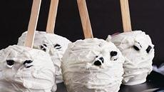 Mummy Head Candy Apples Recipe