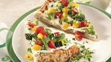 Easy Cool Vegetable Pizza Recipe