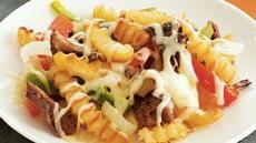 Cheese Steak Smothered Fries Recipe