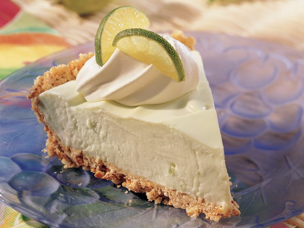Fluffy Key Lime Pie (lighter recipe)