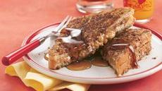 Granola-Peanut Butter French Toast Recipe