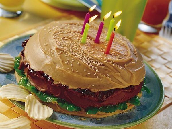 Big Burger Cake Life Made Delicious