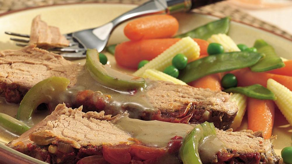 Slow-Cooker Swiss Steak with C