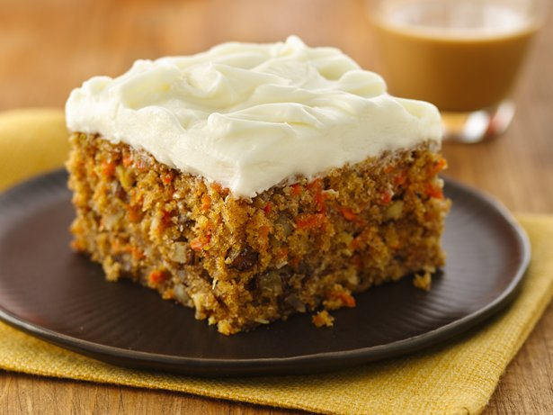 Carrot Cake (White Whole Wheat Flour)