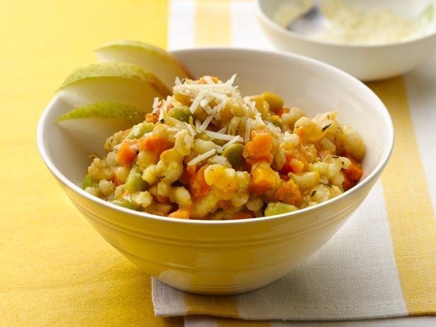 Slow Cooker Sweet Potato and Barley Risotto