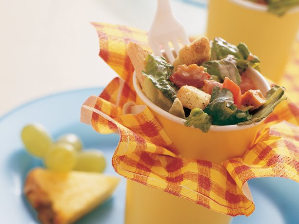 Southwestern Chicken BLT Salad