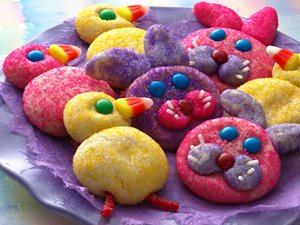 Bunny&#32;&amp;&#32;Chick&#32;Cookies