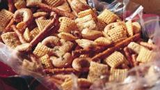 Herbed Cashew Chex Mix Snack Recipe