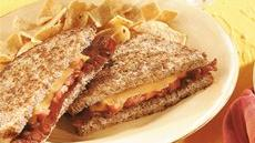 Grilled Bacon, Tomato and Cheese Sandwiches Recipe