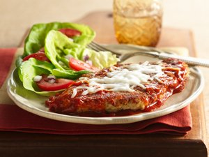 Hearty&#32;Tomato&#32;Skillet&#32;Chicken&#32;Parmigiana