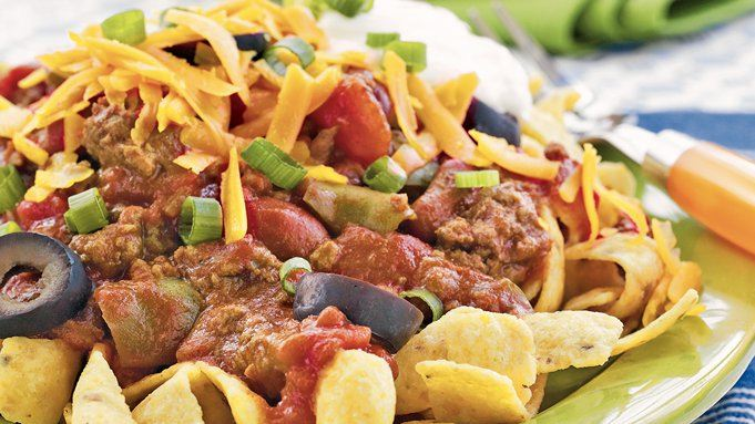 Slow-Cooker Game Day Chili recipe - from Tablespoon!