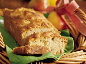 Gingered Pear Bread