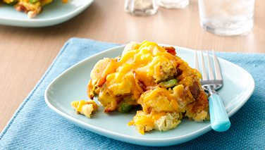 Slow-Cooker Bacon, Egg and Cheese Casserole