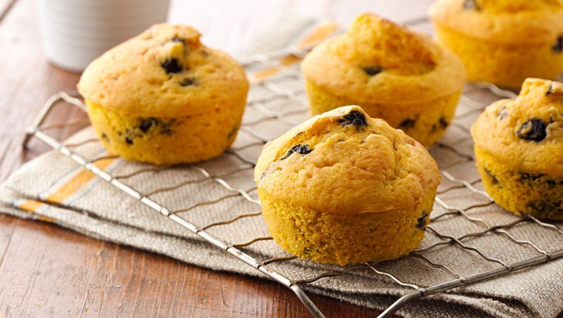 Blueberry-Carrot Muffins