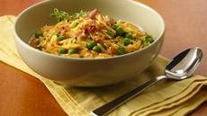 Pastina Risotto with Peas and  Prosciutto Recipe