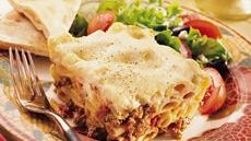 Greek Pasta, Beef and Cheese Recipe