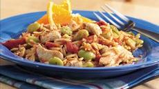 Creole Chicken and Orzo Recipe