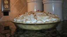 Mama's Coconut Cream Pie Recipe
