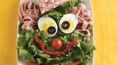 Clown Face Salad Recipe