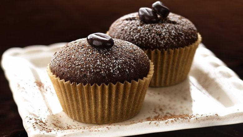 Bring out a plate of delightful chocolate cupcakes and watch them ...