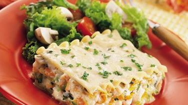 Shortcut Vegetable Lasagna