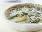 Healthified Spinach and Cheese Quiche