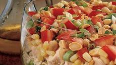 Seven-Layer Chinese Chicken Salad Recipe