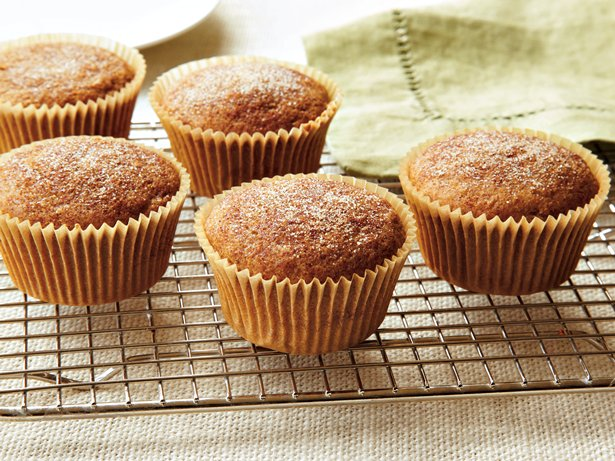 Orange Gingerbread Muffins