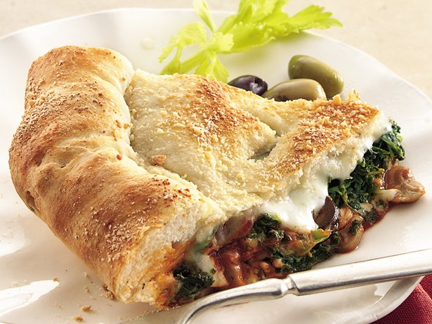 Spinach Pizza Pie