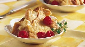 Slow-Cooker White Chocolate Bread Pudding