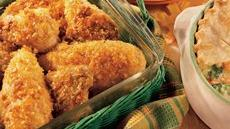 Crisp Oven-Fried Chicken Recipe