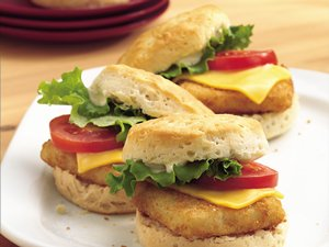 Hot Biscuit Fish Melts