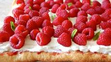 Raspberry and Meringue Flatbread Recipe