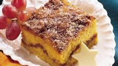 Pumpkin-Maple Coffee Cake Recipe