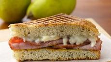 Hearty Ham and Pear Panini Recipe