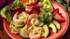 Shrimp Pasta Salad With Fresh Fruit Salsa Recipe