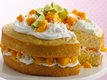 Mango Layer Cake