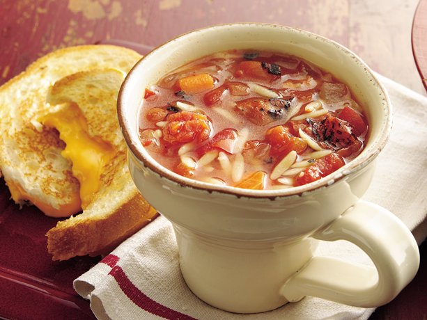 fire roasted tomatoes bring robust flavor to tomato soup loaded with ...