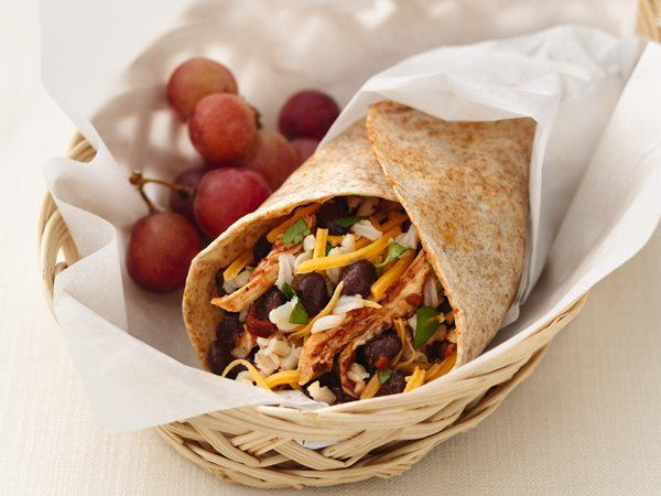 Healthified Chicken and Black Bean Burritos - Life Made ...