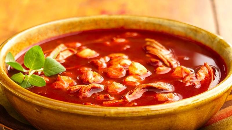 Chicken Pozole recipe from Betty Crocker